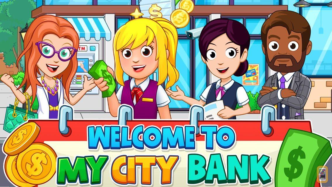 Screenshot - My City : Bank