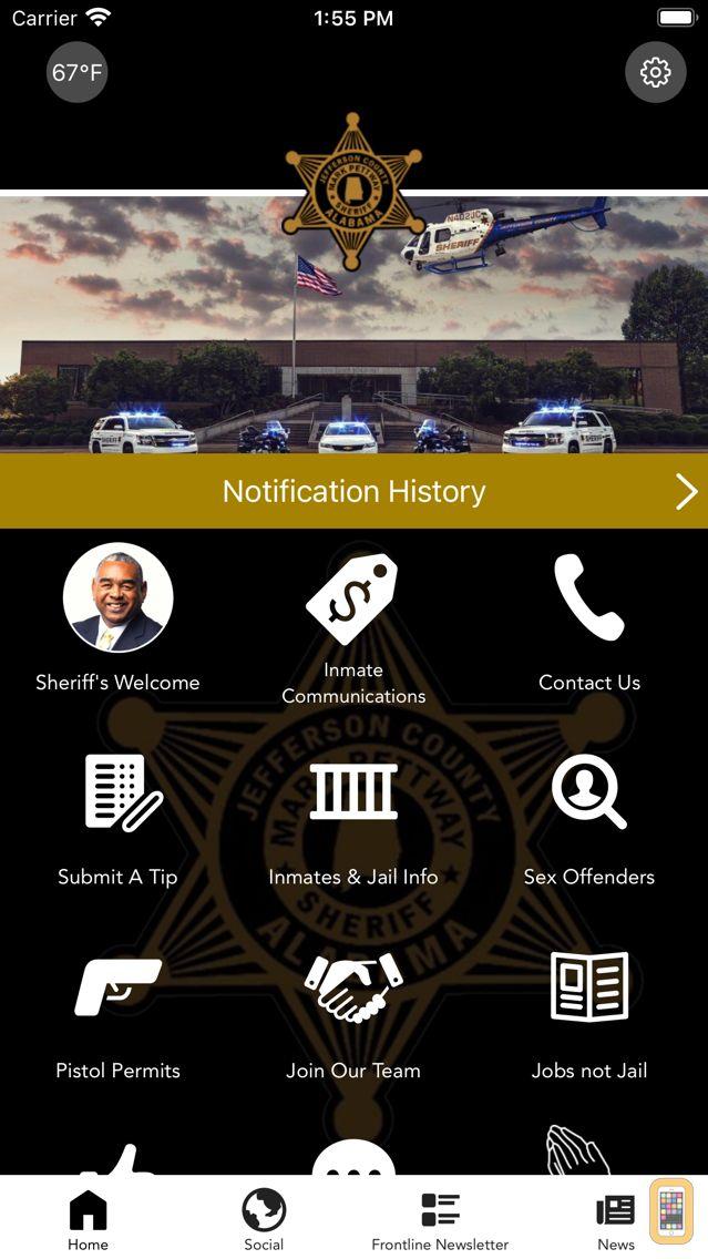 Screenshot - Jefferson County Sheriff AL