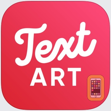 Text Art: Typography Maker by Appostrophe AB (iPhone)