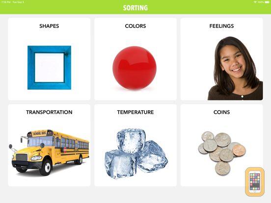 Screenshot - Sorting by Teach Speech Apps