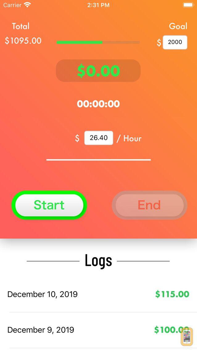 Screenshot - Time to Money