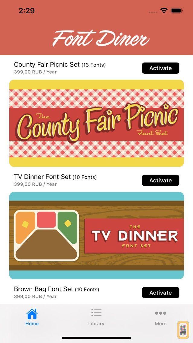 Screenshot - Font Diner