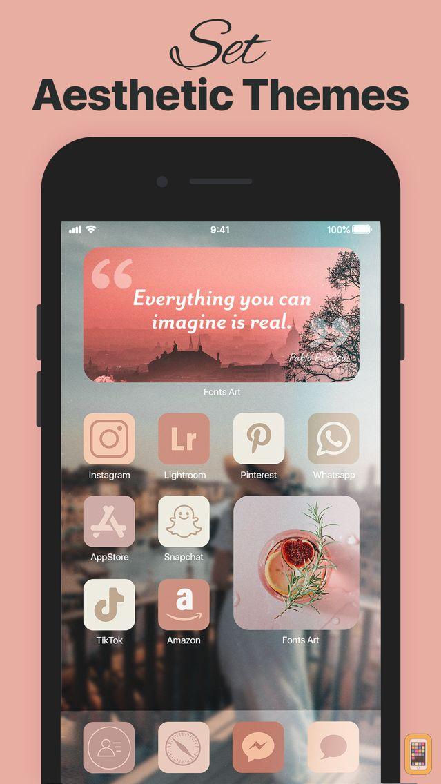 Screenshot - Fonts ∞