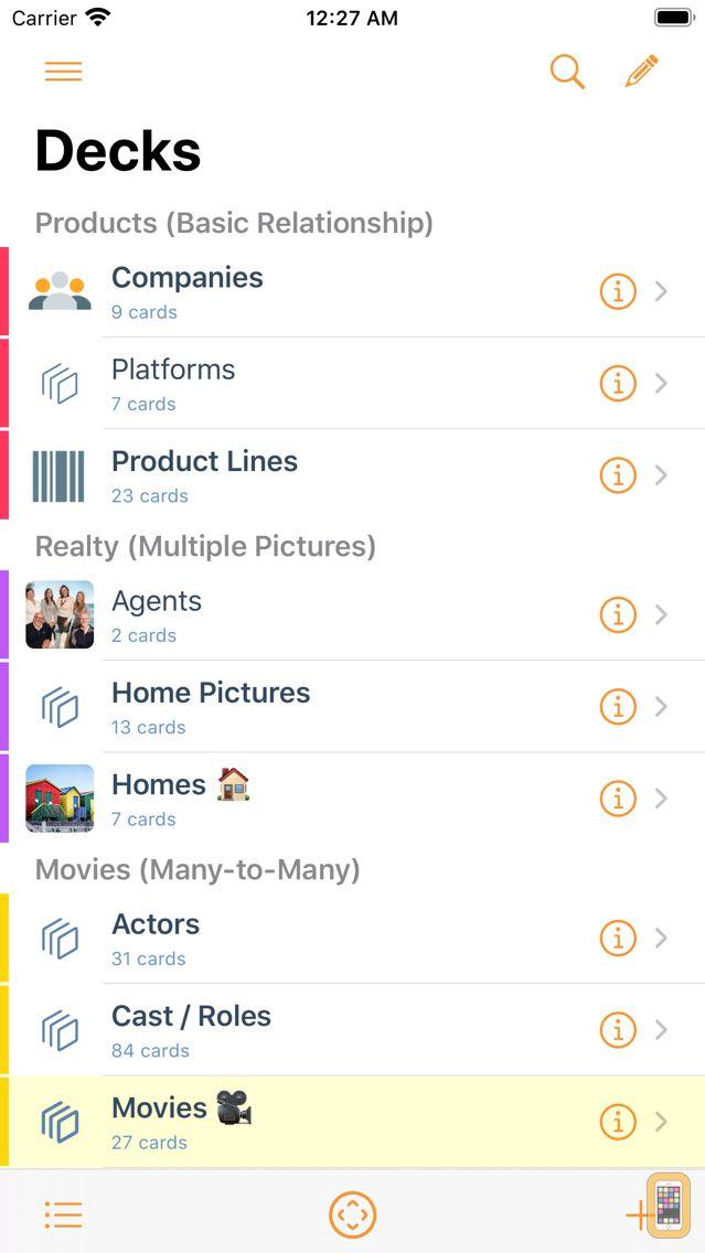 Screenshot - Kase: Your Personal Database