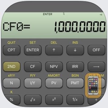 BA Financial Calculator (PRO) by Angel Montana (Universal)