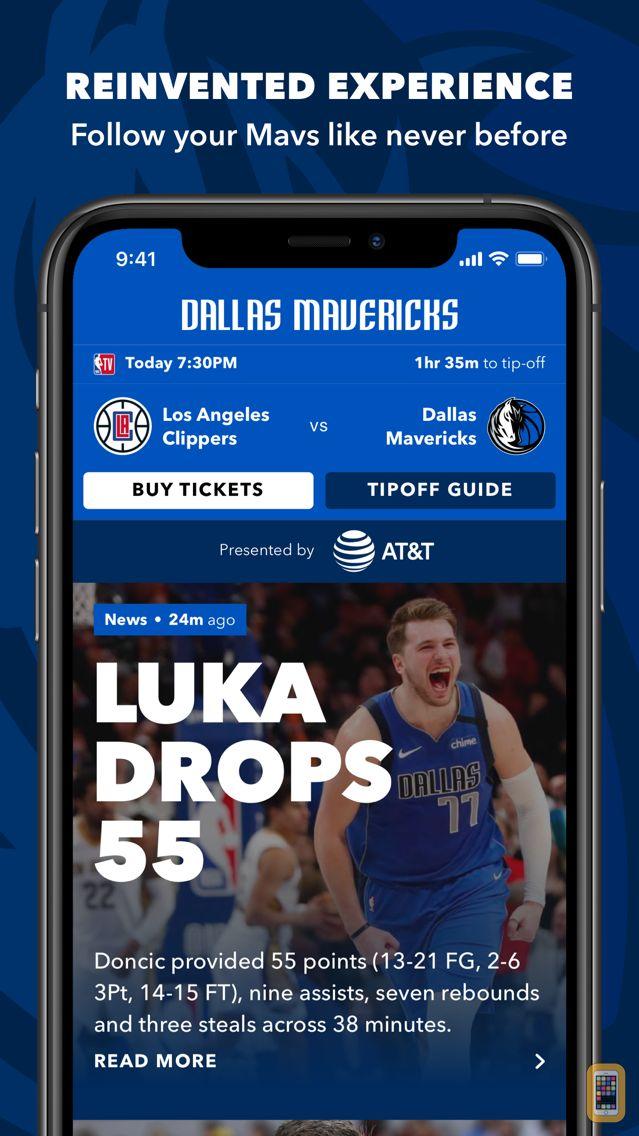 Screenshot - Dallas Mavericks Official