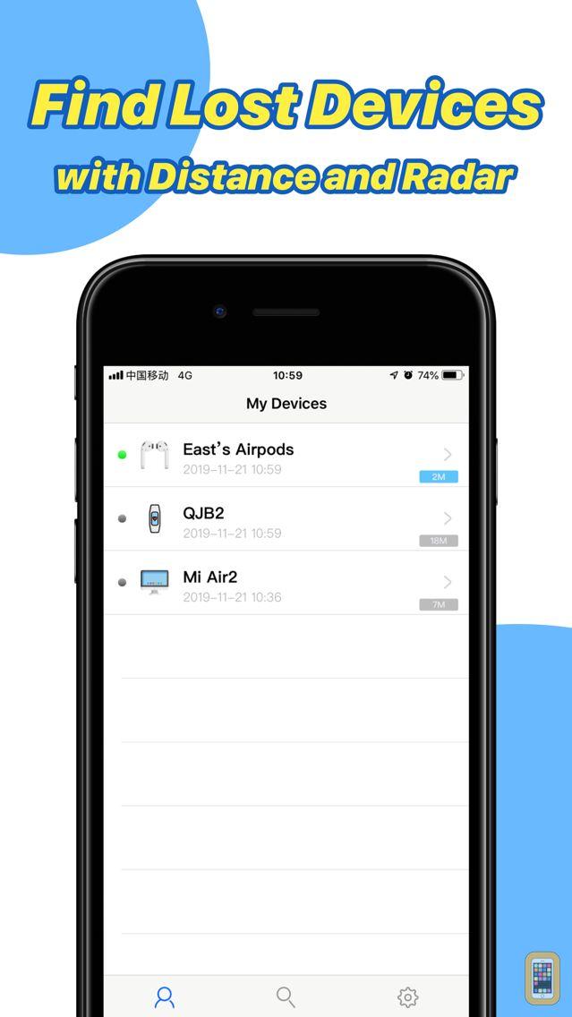 Screenshot - Find My Earphones