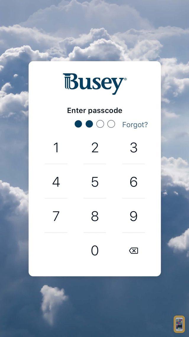 Screenshot - Busey - Mobile