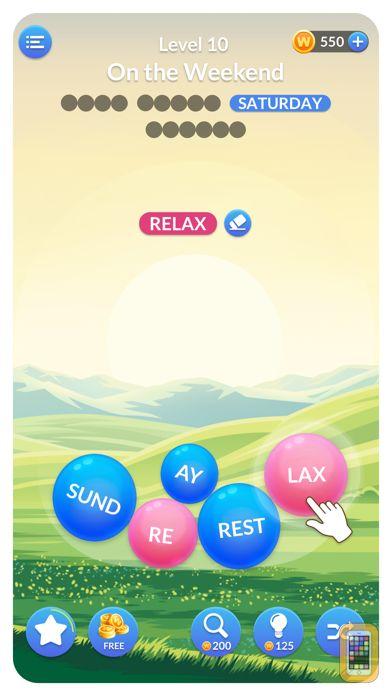 Screenshot - Word Serenity: Relaxing Games