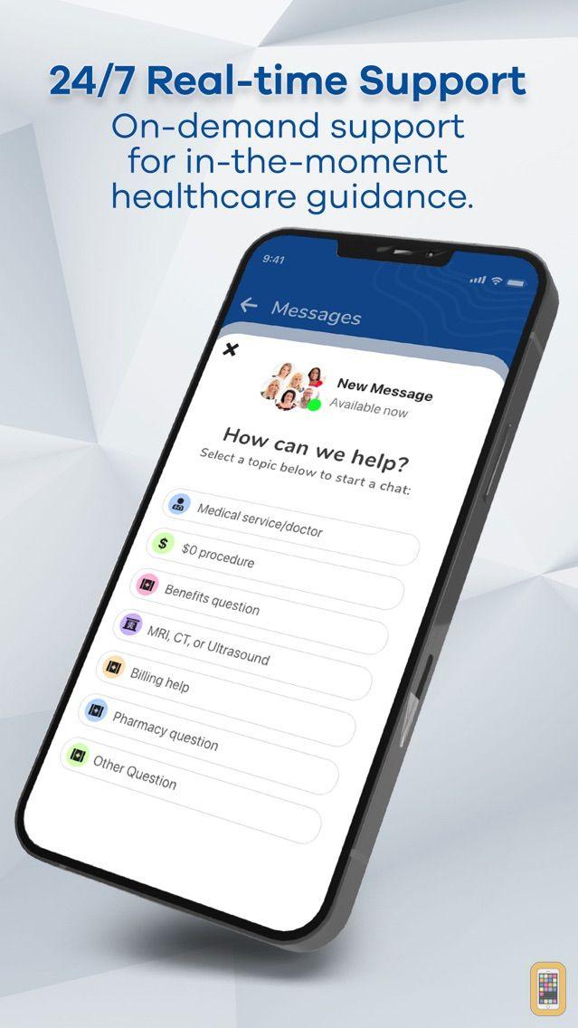 Screenshot - HealthChoice Benefits