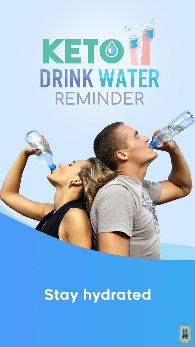 Screenshot - Keto Drink Water Reminder