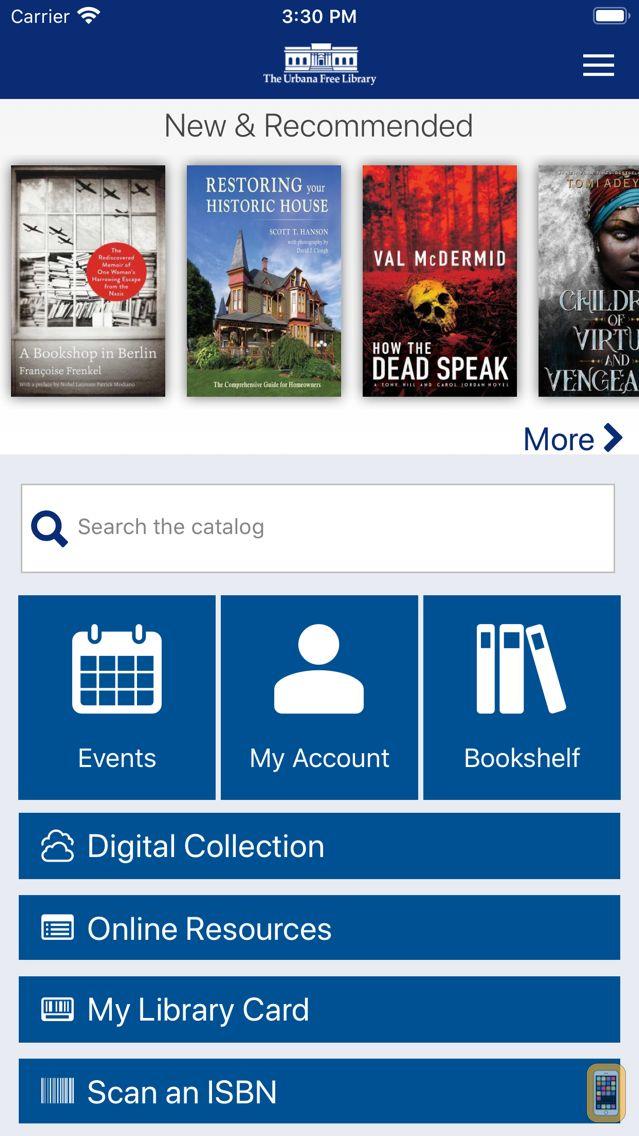 Screenshot - The Urbana Free Library