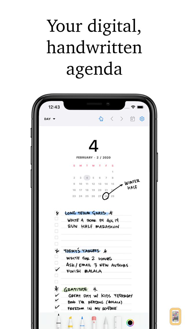 Screenshot - Pencil Planner & Draw Calendar