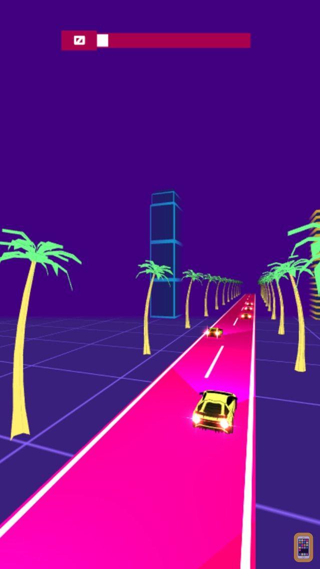 Screenshot - Night Rider - Cyberpunk Racer