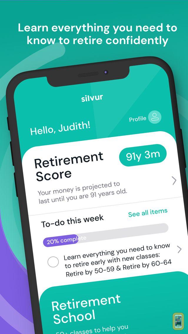 Screenshot - Silvur: Retirement Planner