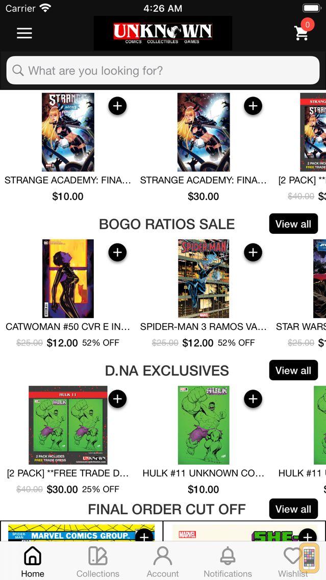 Screenshot - UNKNOWN COMICS