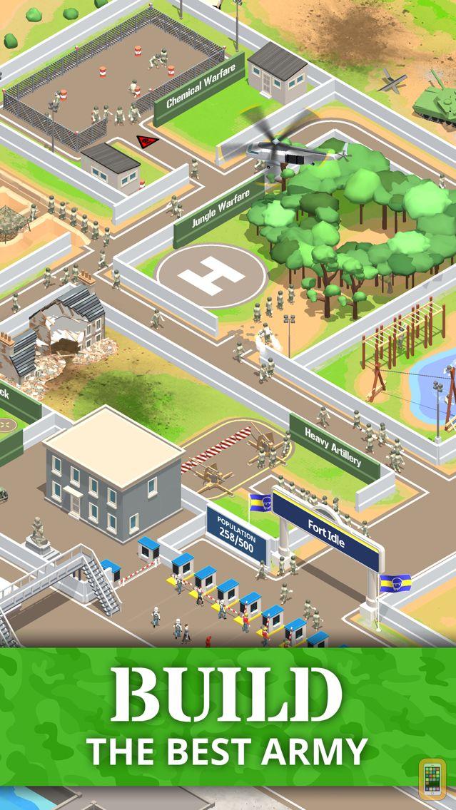Screenshot - Idle Army Base