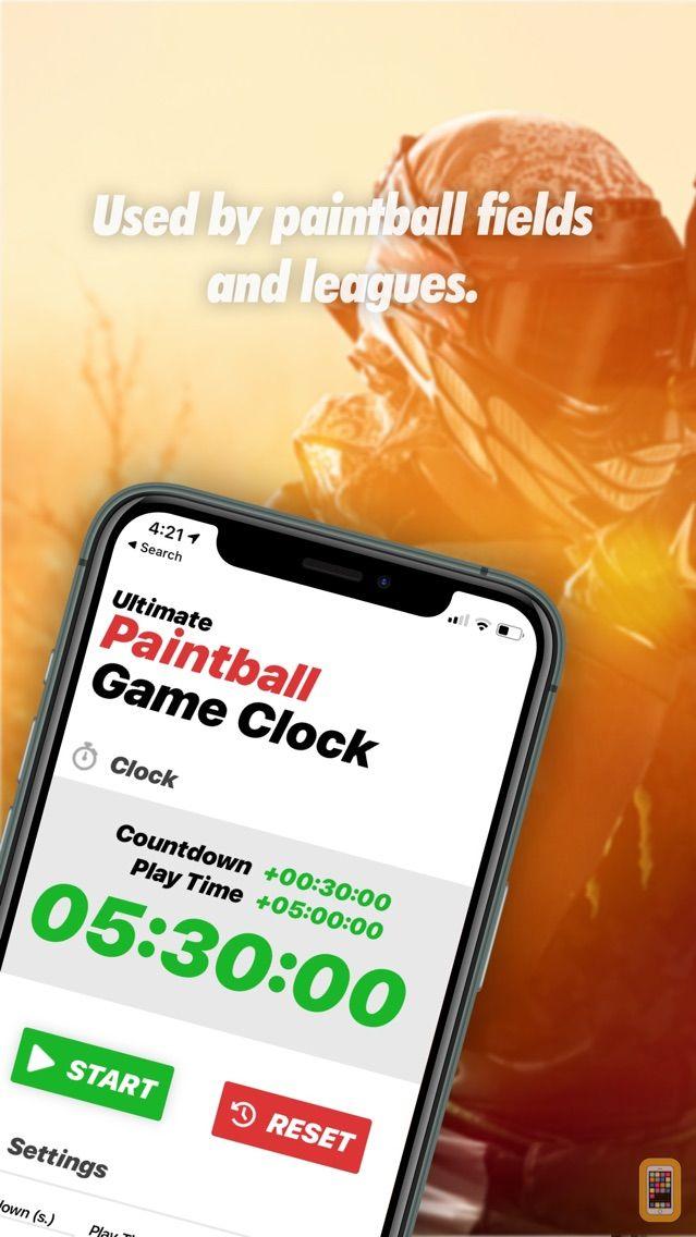 Screenshot - Ultimate Paintball Game Clock