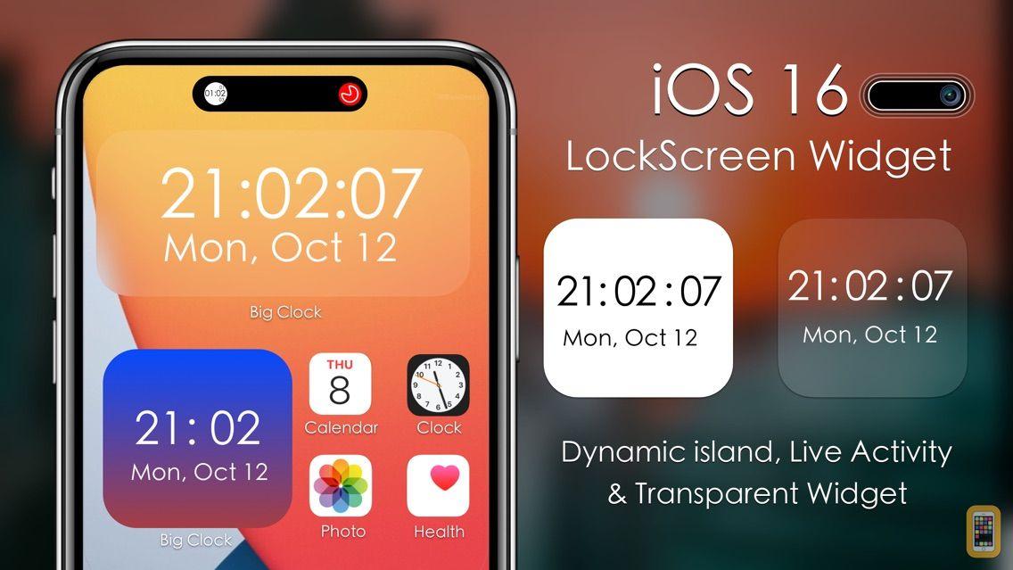 Screenshot - Big Clock - Pro Time Widgets
