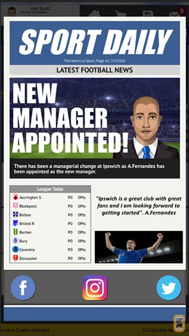 Screenshot - Club Soccer Director 2021