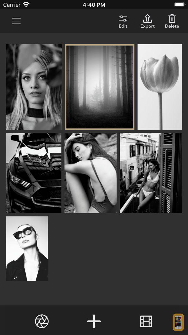 Screenshot - Monotone B&W Filters & Effects