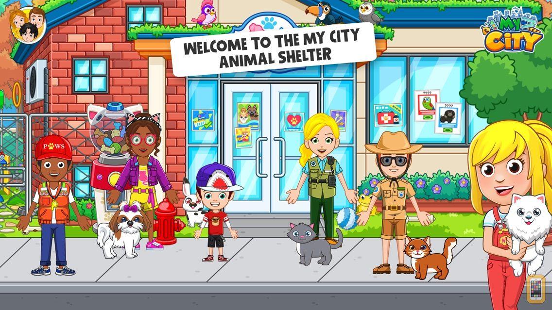 Screenshot - My City : Animal Shelter