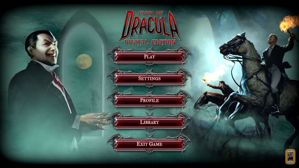 Screenshot - Fury of Dracula