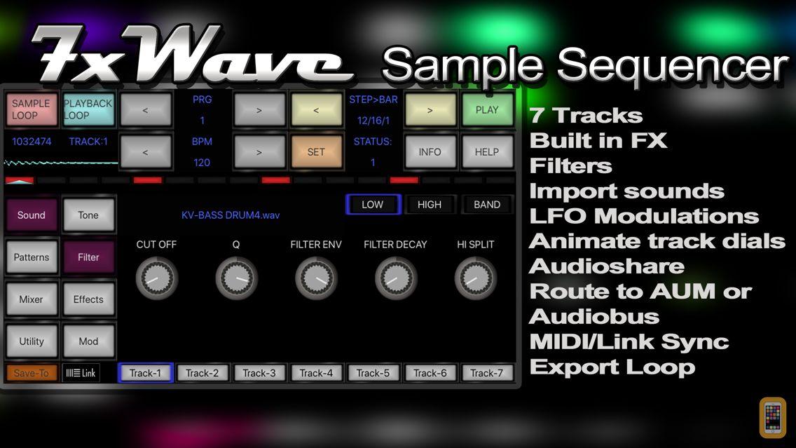 Screenshot - 7XWAVE Sample Sequencer