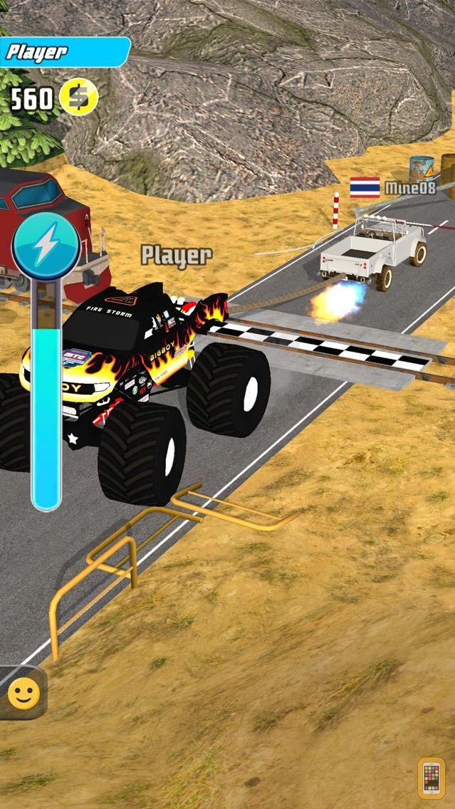 Screenshot - Trucks Tug Of War
