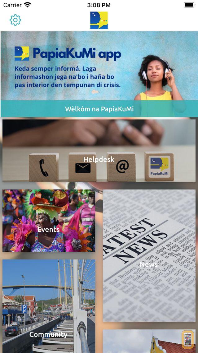 Screenshot - PapiaKuMi App