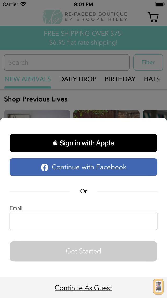 Screenshot - Re-Fabbed Boutique