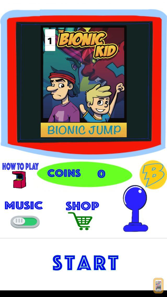 Screenshot - The Bionic Kid Jump