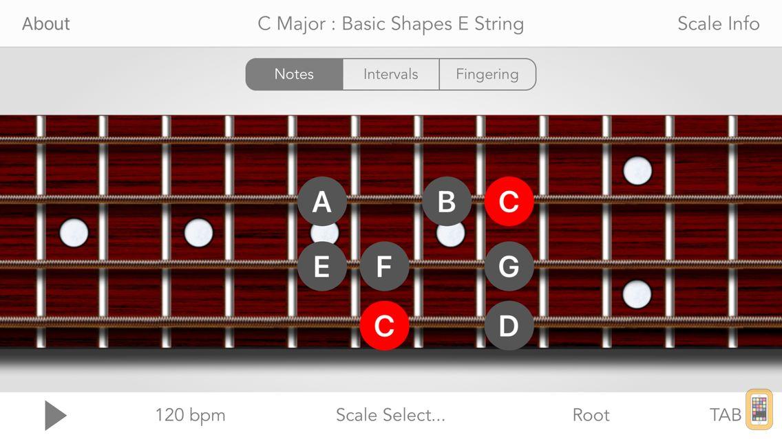 Screenshot - Scales For Bass Guitar