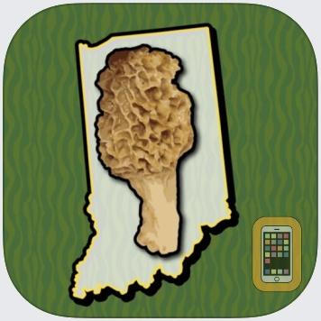 Indiana Mushroom Forager Map! by GeoPOI LLC (Universal)