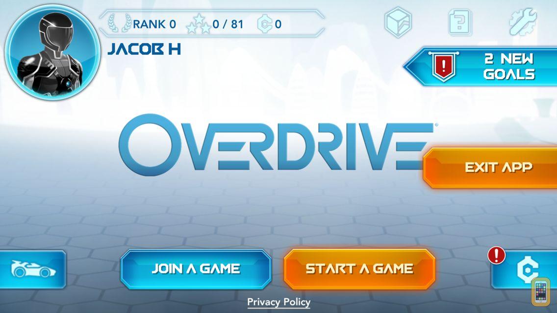 Screenshot - OverDrive 2.6