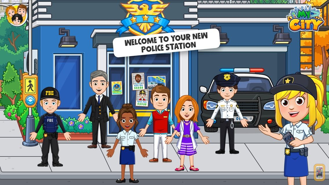 Screenshot - My City : Cops and Robbers
