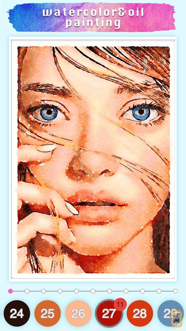Screenshot - Watercolor & Oil painting game