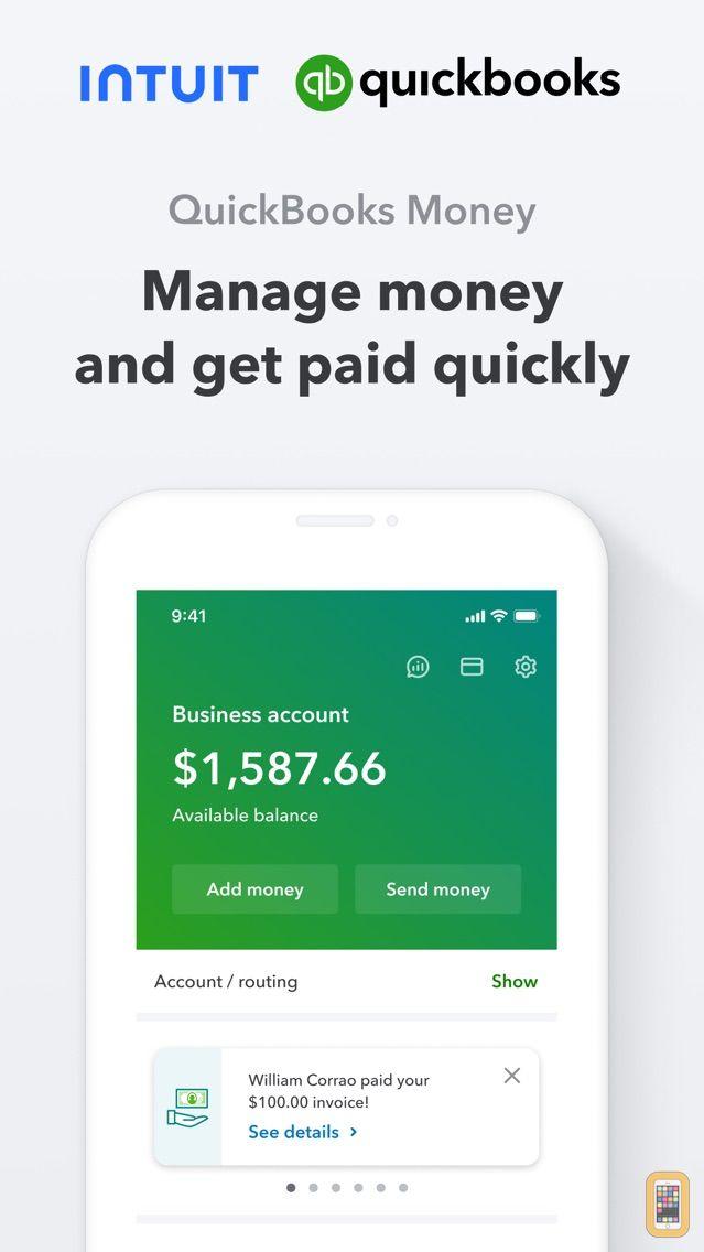 Screenshot - Money by QuickBooks
