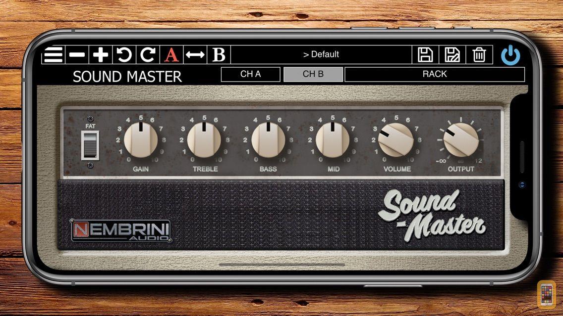 Screenshot - Sound Master Custom Tube