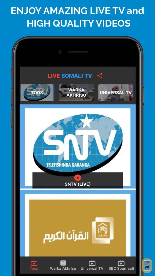 Screenshot - Live Somali TV
