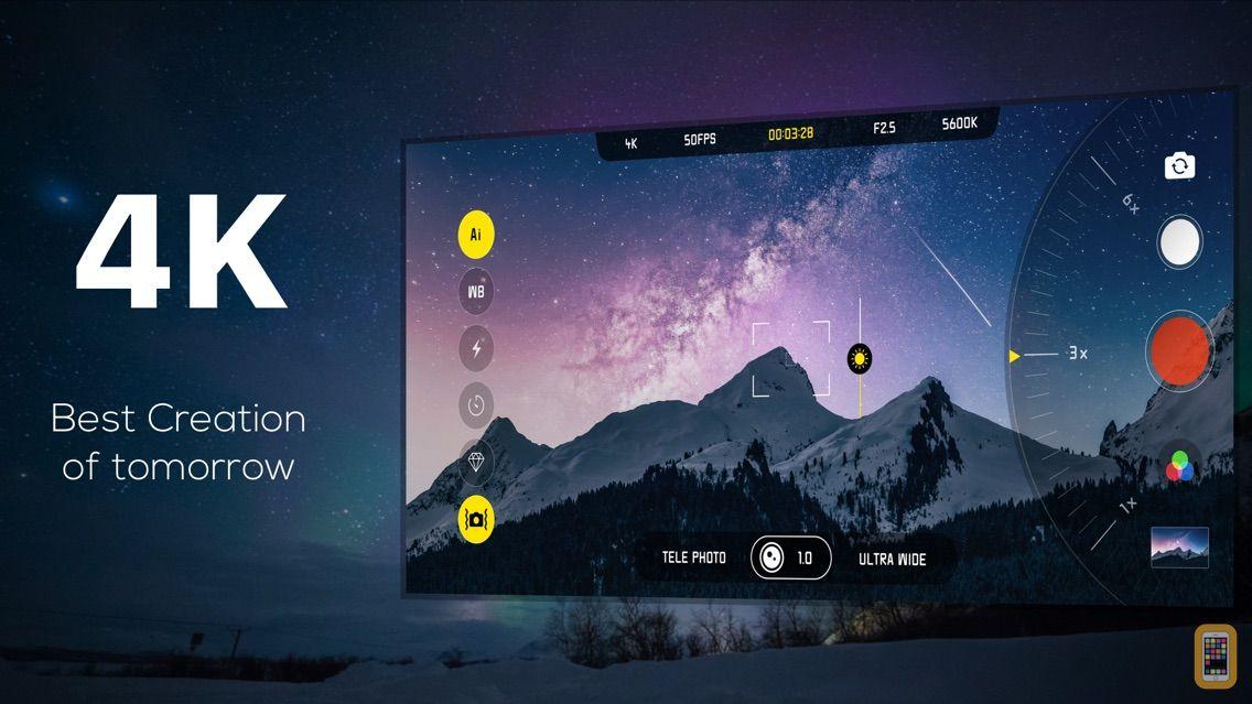 Screenshot - MIDAS - 4K LIVE FILTER CAMERA