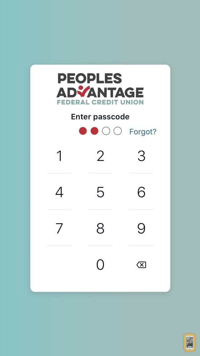 Screenshot - People's Advantage FCU