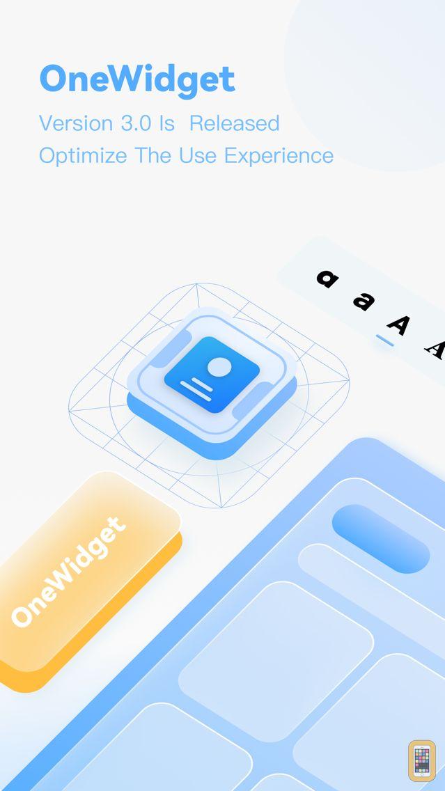 Screenshot - OneWidget - Widgets in One App