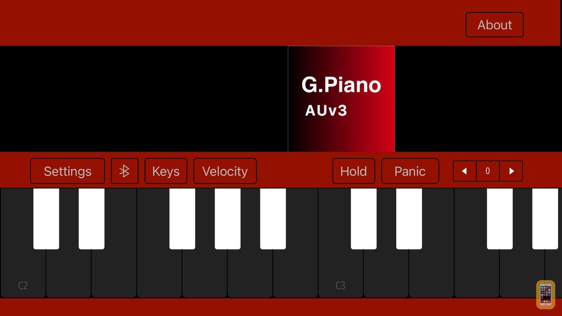 Screenshot - Grand Piano auv3