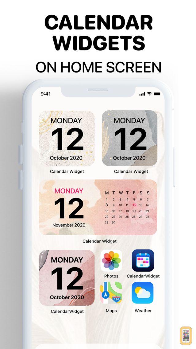 Screenshot - Calendar Widget : Color Themes