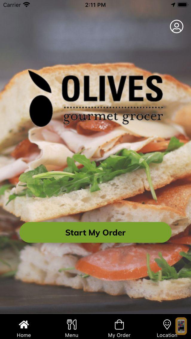Screenshot - Olives Gourmet Grocer