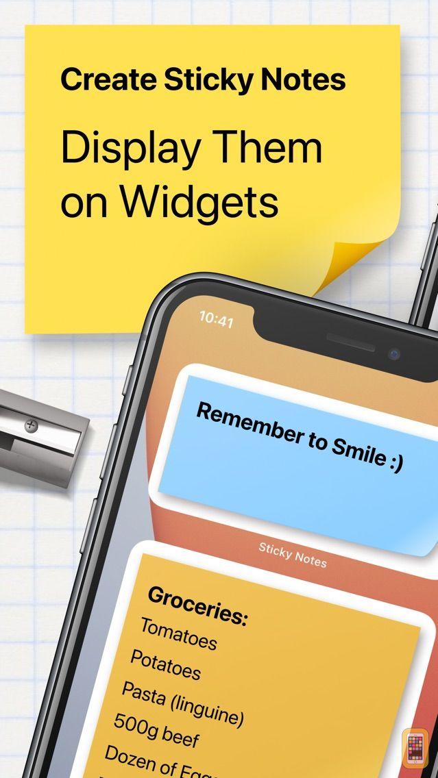 Screenshot - Sticky Notes Widget+ NotePad