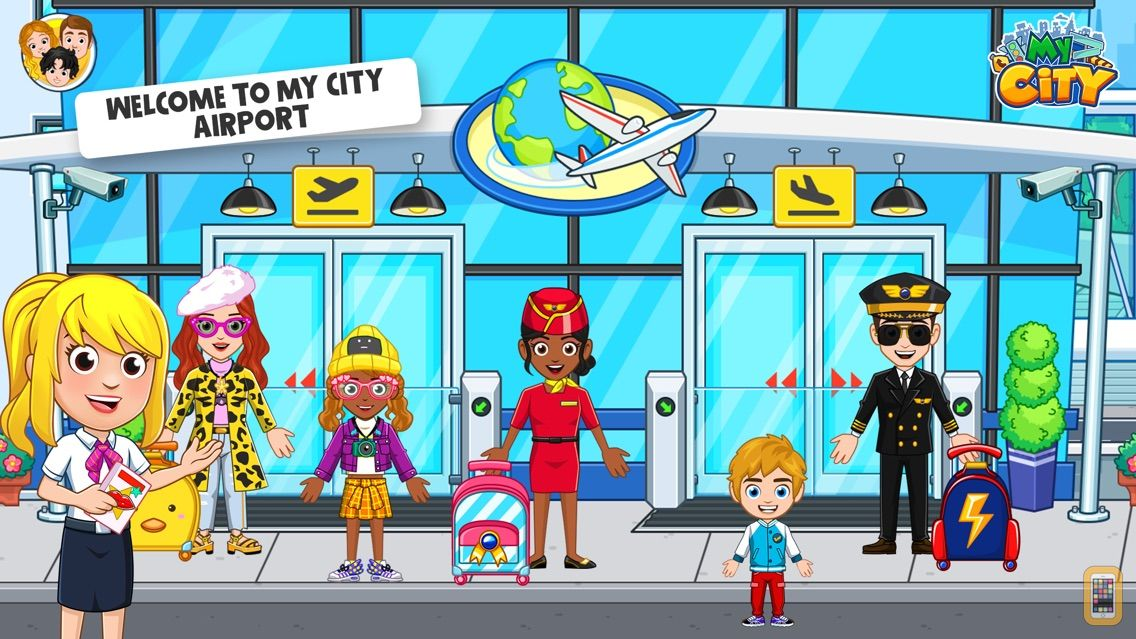 Screenshot - My City : Airport