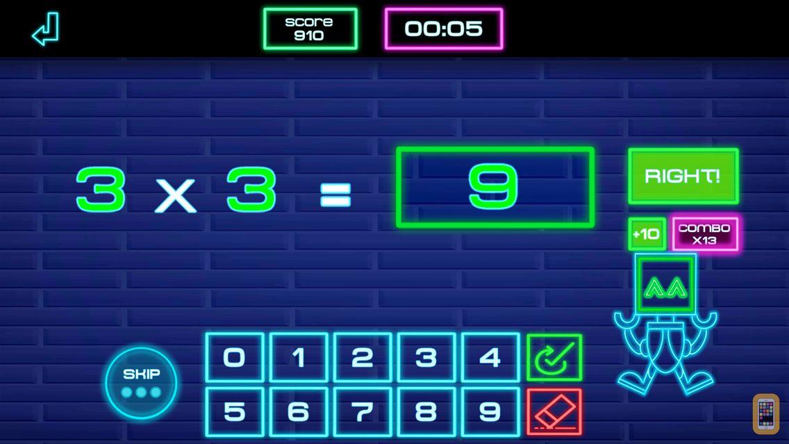 Screenshot - Math-E Premium: Times tables