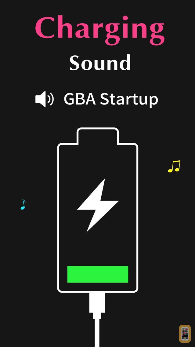 Screenshot - Charging Sound